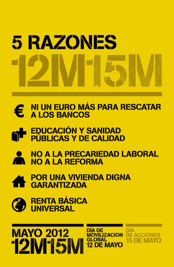 """<a href=""""http://twitpic.com/9awtay"""" title=""""#12M15M: Las 5 razones para salir a la calle. 12 de mayo, día... on Twitpic""""><img src=""""http://twitpic.com/show/thumb/9awtay.jpg"""" width=""""150"""" height=""""150"""" alt=""""#12M15M: Las 5 razones para salir a la calle. 12 de mayo, día... on Twitpic""""></a>"""