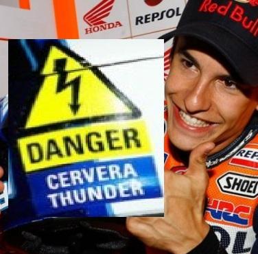 Danger Cervera thunder