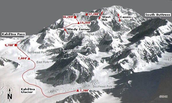 kilian-jornet-record-mckinley-mapa-rutas-pico-denali